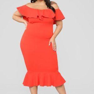 Moments Like This Ruffle Dress